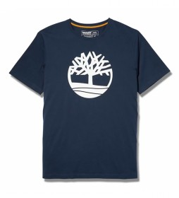 Camiseta Kennebec River Brand Tree marino