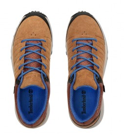Timberland Zapatillas de piel Parker Ridge GTX Low Hiker marrón / Gore-Tex