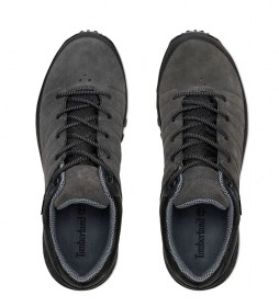 Timberland Parker Ridge GTX Low Hiker sapatos de couro cinza / Gore-Tex