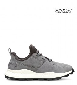Timberland Oxford Brooklyn leather sneakers grey