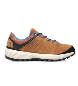 Timberland Parker Ridge GTX Low Hiker brown leather shoes / Gore-Tex
