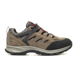 Timberland Outdoor leather shoes Salder Pass Low brown -with GORE-TEX ® membrane-