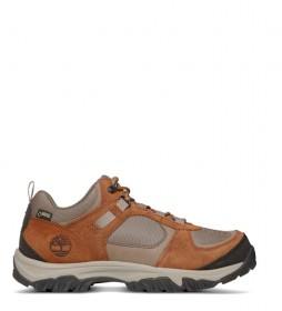 Timberland Zapatillas de piel MT Major Low F/L GT Shitake marrón