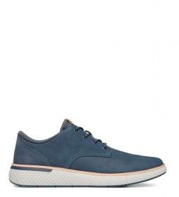 Timberland Cross Mark PT leather sneakers blue