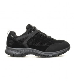 Timberland Outdoor leather shoes Salder Pass Low black -with GORE-TEX ® membrane-