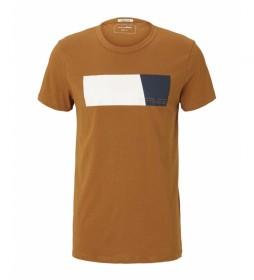 Camiseta 1026927 marrón