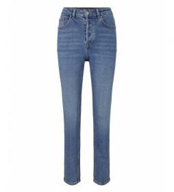 Pantalones vaquero 1027314 azul denim