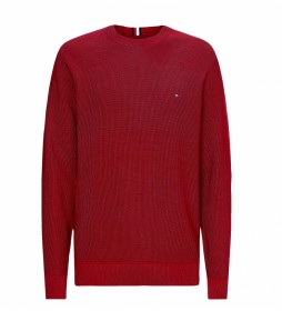 Jersey Basic Structure Crew rojo