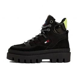 Botas de piel Hybrid negro