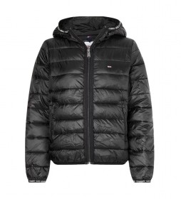 Chaqueta Quilted Tape negro