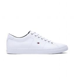Zapatillas de piel Essential blanco
