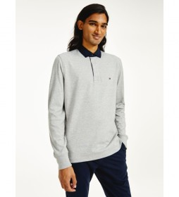 Polo Iconic Collar Rugby gris