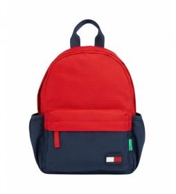 Mochila IM BTS Core Mini rojo, marino -29x20x10cm-