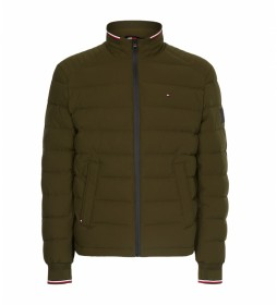 Chaqueta Motion Quilted verde