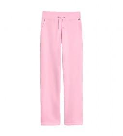 Pantalón jogger essential rosa
