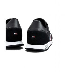 Zapatillas de piel Runner Lo negro