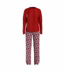 Pijama Set rojo