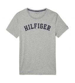 Camiseta SS Logo gris