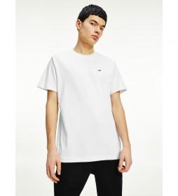 Camiseta Classic Jersey C Neck blanco