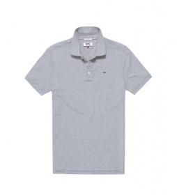 Polo TJM Slim Original Fine Piqué gris