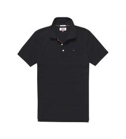 Polo TJM Slim Original Fine Piqué negro