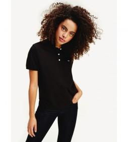 Polo Slim negro