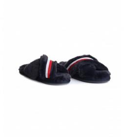 Zapatillas de casa Furry marino