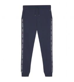 Pantalones Track HWK marino