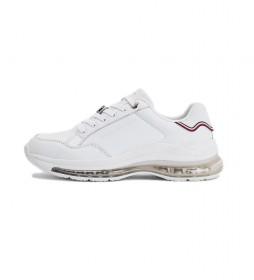 Zapatillas de piel Signature Air Runner blanco