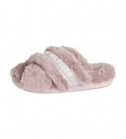 Zapatillas Furry rosa