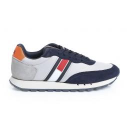 Zapatillas retro mix Tjm runner gris, azul