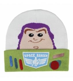 Gorro con aplicaciones Toy Story Buzz Lightyear verde