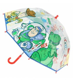 Paraguas Manual Poe Toy Story verde