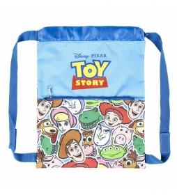 Saquito Mochila Toy Story azul -27x33x1cm-
