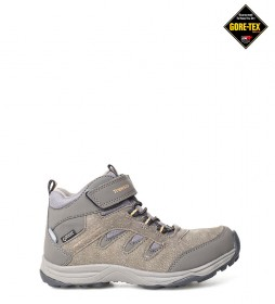 TrekSta Botas Jr.Hiking Semi Mid GTX marrón / Gore-Tex