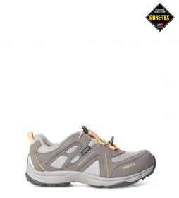 TrekSta Zapatillas trekking Speed Lace Low GTX marrón / Gore-Tex