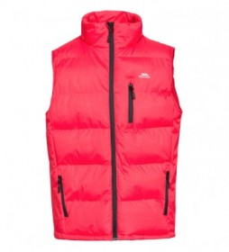 Trespass Red Clasp padded waistcoat
