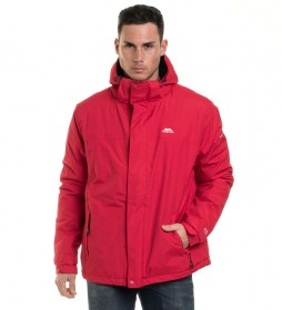 Trespass Chaqueta Donelly rojo -TP75-