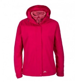Trespass Madalin jacket 3 in 1-TP75- raspberry