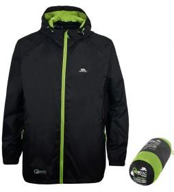 Trespass Qikpac Packaway Jacket JKT -TP75- black