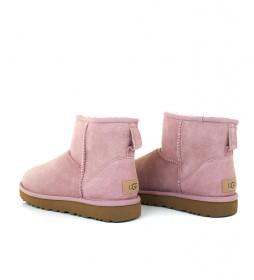 Botas de piel Classic Mini II rosa claro