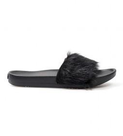 Sandalias de piel Royale negro