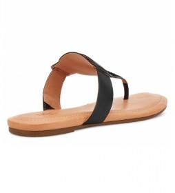 Sandalias de piel Gaila negro
