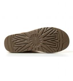 Botas de piel Mini Baley Button II chestnut