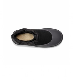 Botas de piel Classic Mini Laca-Up Weather negro