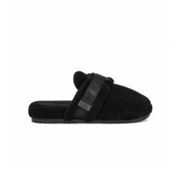 Zapatillas de casa Fluff If negro