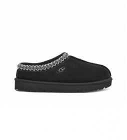Zapatillas de piel Tasman negro