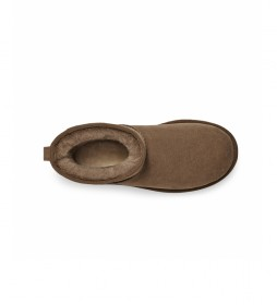 Botines de piel Classic Mini II marrón
