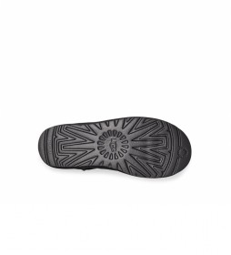 Botines de piel Classic Mini Side Logo negro