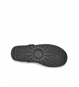 Botines de piel Mini Bailey Button II negro